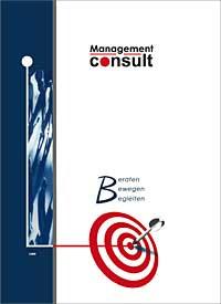 Unternehmensbroschüre der Unternehmensberatung Management consult GmbH aus Bonn