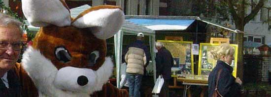 Befragung von Besuchern von Wochenmärkten und Events