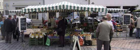 Befragung von Kommunen zu Wochenmärkten