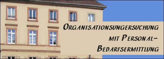 Organisationsuntersuchung mit Personalbedarfsermittlung der Kreiskasse